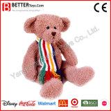 Stuk speelgoed van de pluche vulde de Dierlijke Zachte Gezamenlijke Teddybeer van de Knuffel voor Jonge geitjes
