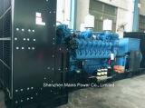 motore del MTU della Germania di potere dell'uscita di 2000kw 2500kVA che guida generatore diesel