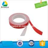 0,64 mm/a Doble Cara gris de la película de color rojo/gris cinta adhesiva de espuma acrílica (5064G)