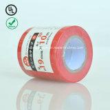 Bleu et rouge 0.20mm épaisseur PVC ruban électrique ignifuge