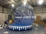 Sfera gonfiabile della neve di vendita calda per la cattura delle foto