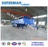 3 Le transport de marchandises en vrac de l'essieu de la paroi latérale de la Chine de remorque