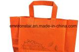 La impresión de imágenes personalizadas laminadas de reciclaje de compras de promoción de la bolsa no tejido de polipropileno
