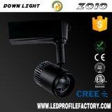 Foco LED ajustable vía LED de luz con Ce RoHS