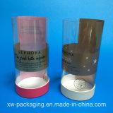 Neuer kundenspezifischer gedruckter runder Plastikkasten