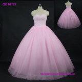 Нанесите валик Ruffle Crystal платье платье Quinceanera шаровой опоры рычага подвески