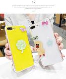 Cassa abbastanza bella del telefono mobile del reticolo del fumetto per il iPhone 7 8 più