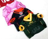 Le crabot respirable d'usure du football d'animal familier folâtre des vêtements