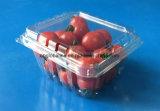 Coperture superiori impaccanti della frutta di plastica a gettare per i pomodori 250 grammi