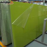 Künstlicher Mann bildete multi Zeilen schauende grüne Quarz-Stein-Marmorplatte