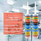 Acétique-Corriger la puate d'étanchéité en verre de puate d'étanchéité de silicones