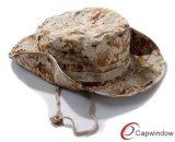 Ведро Hat&#160 Fisher ткани Camo верхнего качества; для изготовленный на заказ конструкции логоса