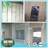 Painéis de parede do sanduíche do cimento do EPS da isolação térmica para a mansão