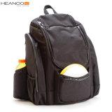 Luxe noir de grande capacité d'OEM marqué sacs de sac à dos de golf de disque pour des sports