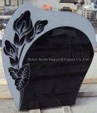 رخيصة [إيوروبن]/[روسّين]/[أمريكن] أسلوب صوّان أسود/رماديّ شاهد القبر [موونمنت] نصب تذكاريّ شاهد شاهد مع عادة تصميم
