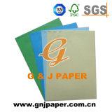 tarjetas de papel impresas coloridas de la talla de 225GSM A4 con precio barato