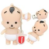 Palillo del mecanismo impulsor del USB de Keychain del regalo del bebé