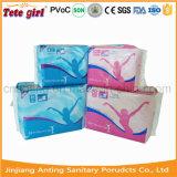 Freies Beispielgesundheitliche Auflagen, gesundheitliche Serviette der Dame-Organic Cotton Anion