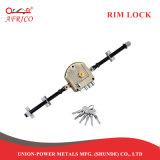 Trava do noturno fechaduras mortos do parafuso de segurança do bloqueio da porta da RIM Dragon bloqueia com Cross Keys