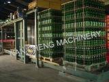 Автоматическая разгрузка машины для стеклянных бутылок