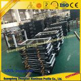 La fabbrica fornisce la grande espulsione dell'alluminio di formato di alto profilo di alluminio industriale di durezza
