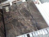 Naturale/ha lucidato il marmo del Brown Marron Emperador per le mattonelle di pavimento