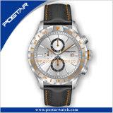 Relógios do cronógrafo dos homens unidirecionais da moldura com cinta de Interchangable