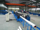Linha de Formação do Rolo Rainspout, tecto de aço quadrada, máquina de fazer do tubo, Linha de Saída