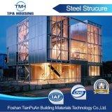Для использования вне помещений из сборных конструкций легких стальных структуру для отеля здание