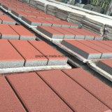 Wiederholter Gebrauch-/Schienen-Widerstand-keramischer/konkreter Ziegelstein/Pflasterung mit verschiedener Farbe