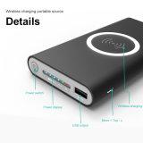 Di potere 2018 telefono mobile portatile di Powerbank 20000mAh della Banca della batteria del caricatore senza fili rapido esterno caldo della carica per il iPhone 8 8plus X