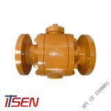 Cheio de aço forjado de disco de alta pressão da válvula de esfera de estanqueidade