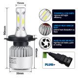Lampadina automatica del faro della PANNOCCHIA LED del fascio di S2 LED H4 72W 8000lm Ciao-Lo per le automobili