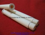 Tubo di ceramica dell'allumina bianca di elevata purezza