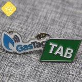Gold überzogenes Decklack-Metalkundenspezifisches Emblem-Firmenzeichen-Abzeichen