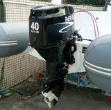 선체 밖 F40fws-T-Efi 40HP Efi 엔진 배