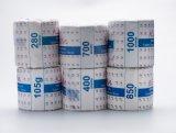 Tecido branco impresso madeira de papel 100% de tecido do Virgin/papel higiénico/brandamente de toalete