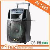 Amaz/Temeisheng/Kvg Chariot de puissance plus forte l'Orateur Karaoké avec micro sans fil Bluetooth