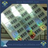 Numéro de code à barres Impression d'Étiquette hologramme