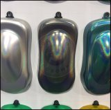 ミラーの粉レーザーの銀製のホログラフィック車のゴム製ペンキの顔料