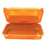 Transparente Plastikmaisstärke-Wegwerfmittagessen-Kasten