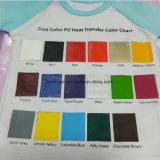 Vinilo negro lavable caliente del traspaso térmico de Saling para la ropa
