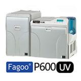 P600Fagoo UV Impression par transfert de technologie de l'imprimante de carte RFID