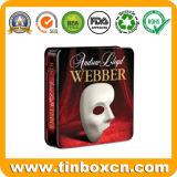 Rechteckiger DVD Zinn-Kasten für Kinder, Metal CD Zinn-Kasten