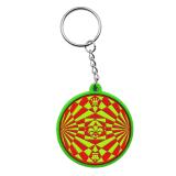 Fördernder Zoll Keychain des Gussteil-3D