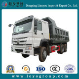 HOWO鉱山のダンプトラック6X4のダンプカー371HP