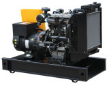 Generator-Set angeschalten durch Dieselmotor-geöffneten Rahmen Lovol50hz