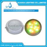Lámpara ligera subacuática blanca llenada resina de la piscina de IP68 12V RGB LED