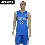 Personas uniformes 100% del llano de la alta calidad del poliester del baloncesto en blanco de la juventud Jersey