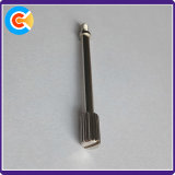 Углеродистая сталь Оцинкованный винт с накатанной головкой с канавками шагом винта